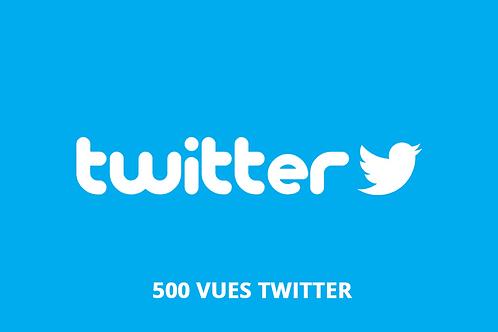acheter 500 vues twitter