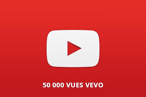 50 000 vues vevo youtube