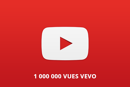 1 000 000 vues vevo youtube