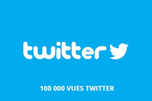 100 000 vues Twitter