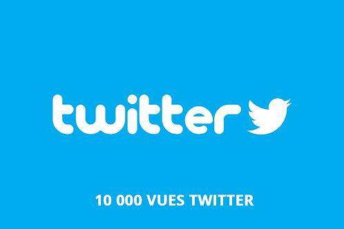 acheter 10 000 vues twitter