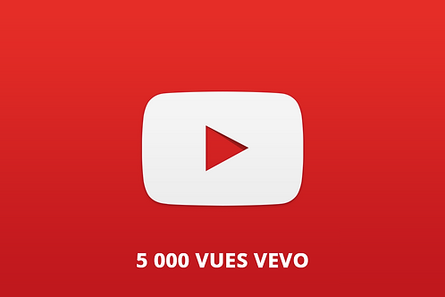 5 000 vues vevo youtube