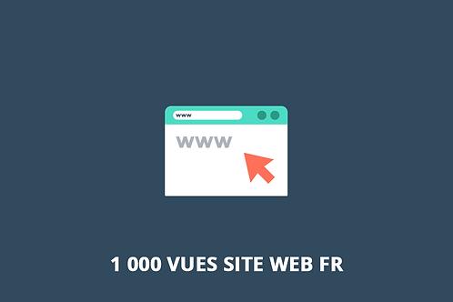 1 000 vues FR Trafic web