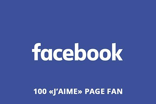 100 j'aime page fan facebook