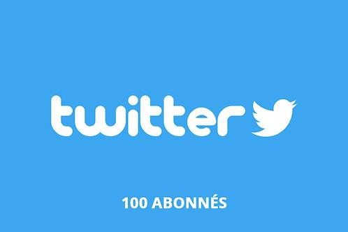 100 abonnés twitter