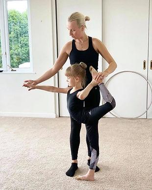 Flexibility classes for dancers, cheerleaders, skaters, etc