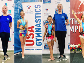 USA NATIONALS 2021 RESULTS