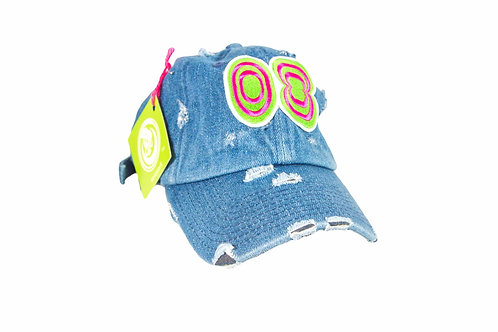 Light Wash Denim Dad Hat