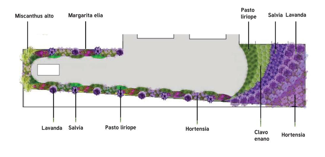 Plano vegetación detalle