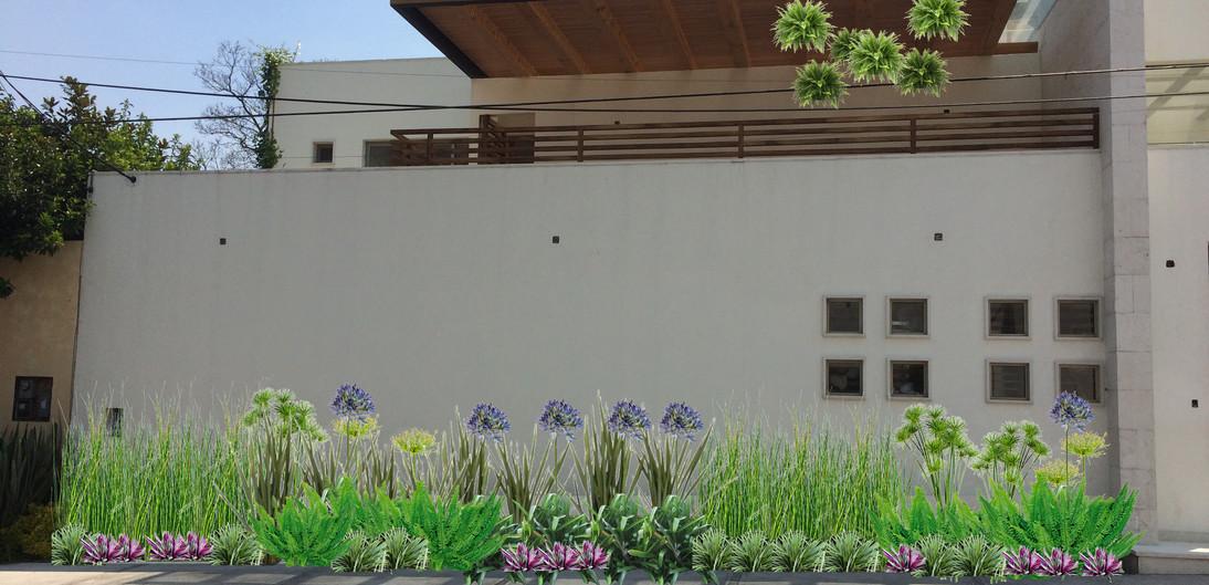 Visualización fachada