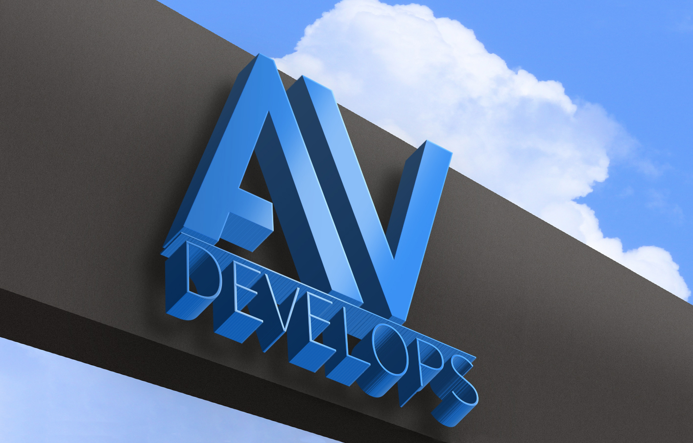 AV Develops 3D Logo