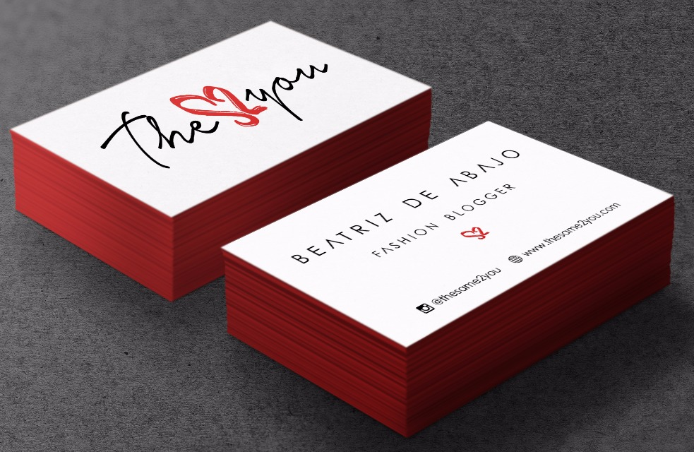 Thesame2you Business Cards