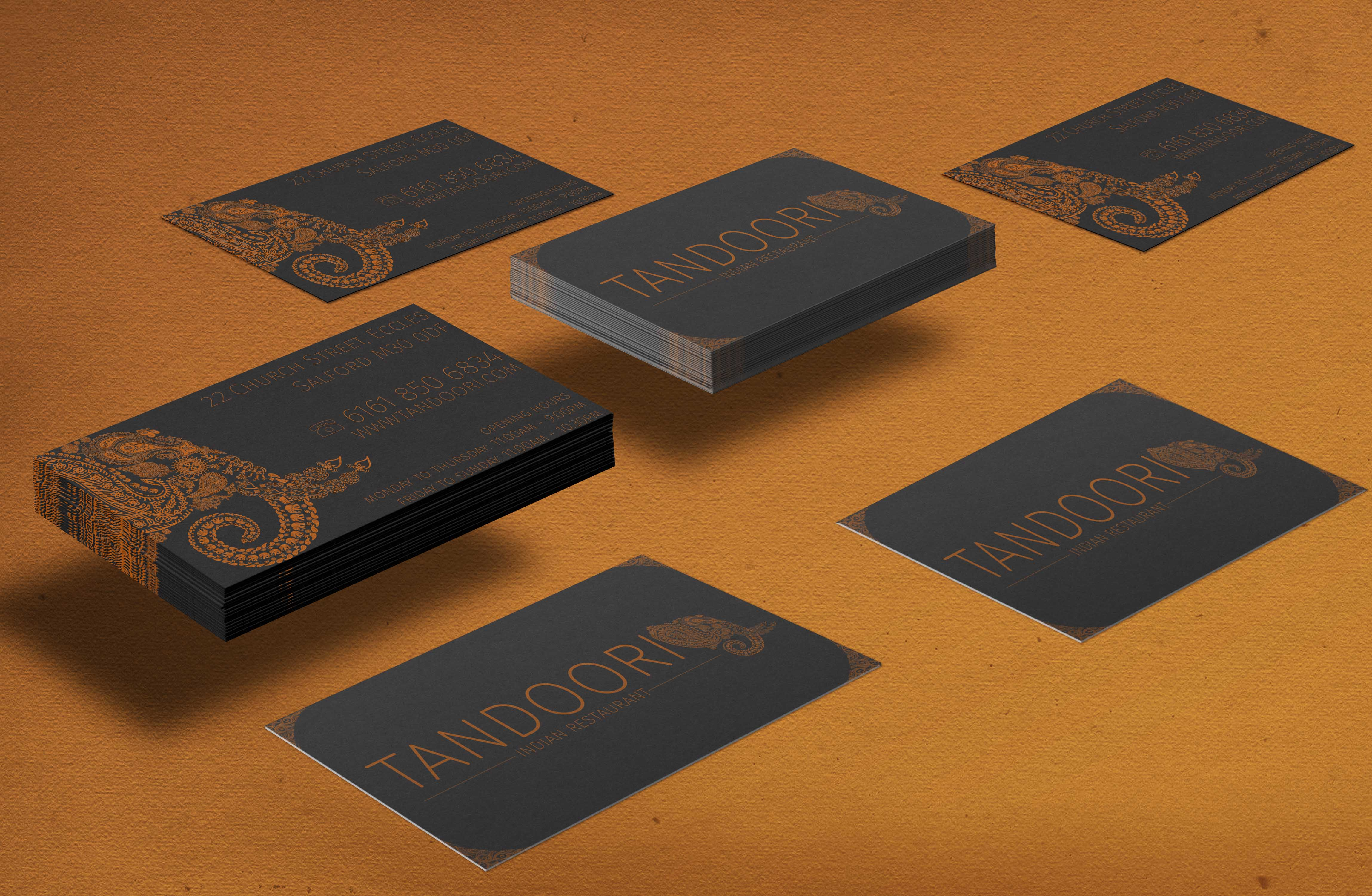 Tandoori Business Cards