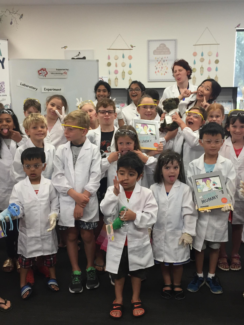 Science func for toddlers to primary schoolers to high schoolers