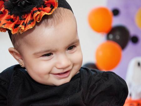 Halloween dos bebês