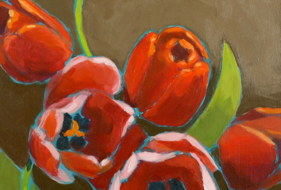 Red Tulips 2