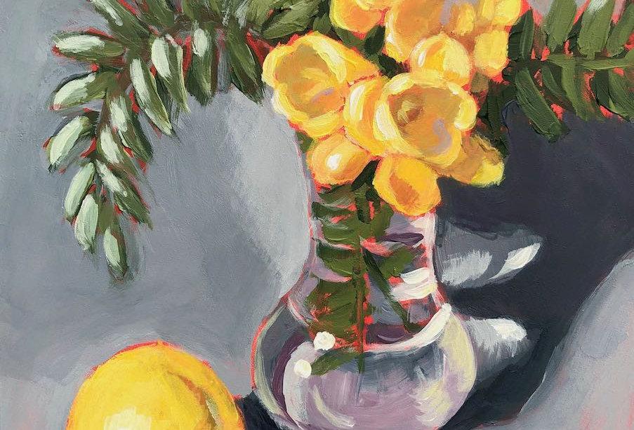Yellow Freesia Bouquet