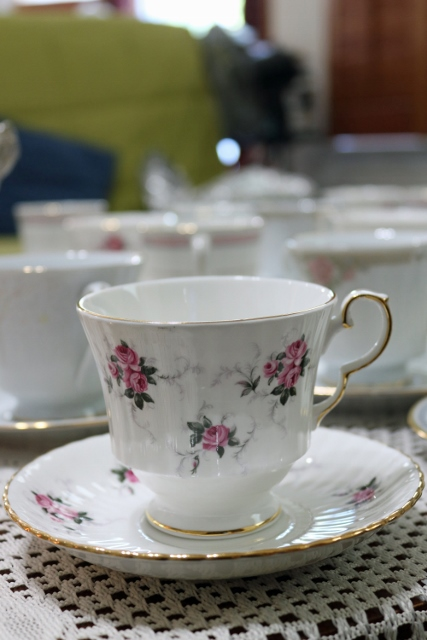Spode teacup and saucer