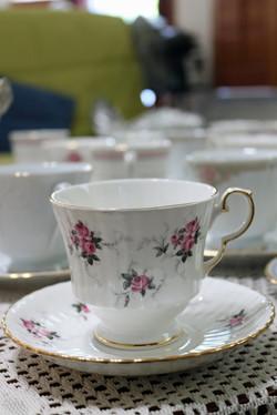 Spode teacup and saucer