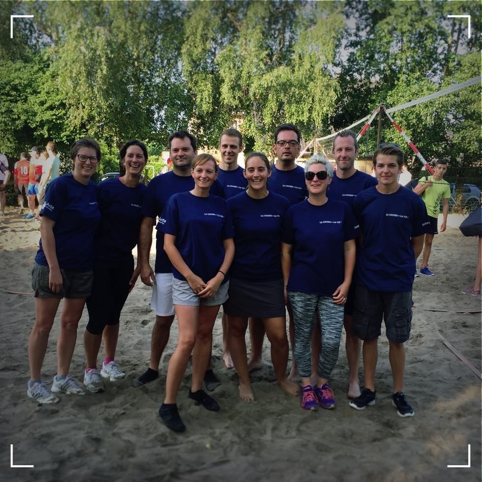 La Course pour la Vie s'incline en finale du Beach Volley
