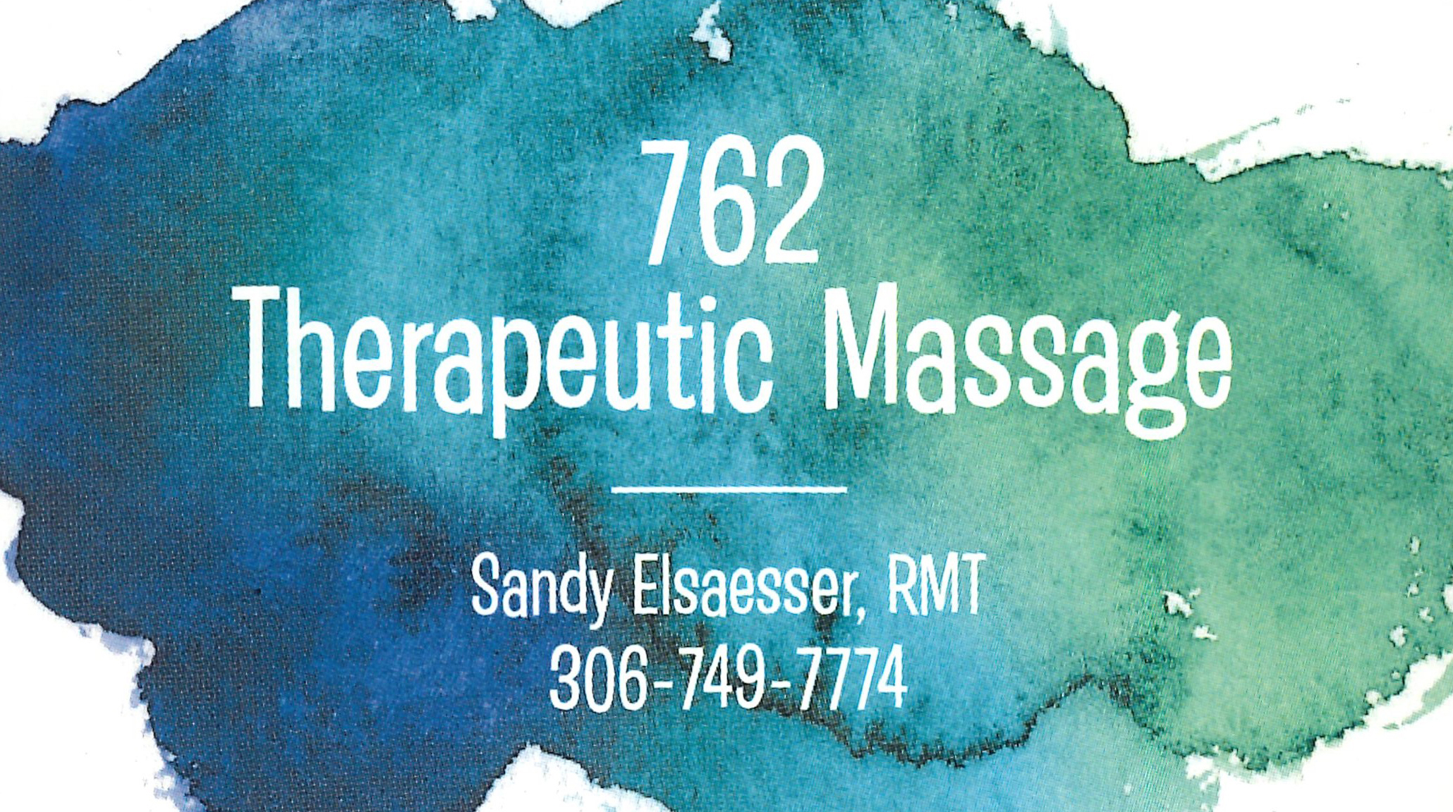 762 Theraputic Massage