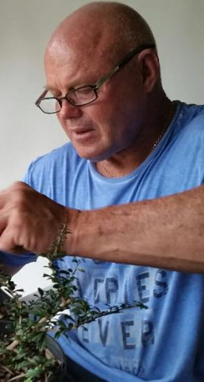 Roger Lunt the Bonsai Man