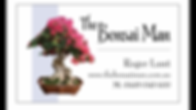 The Bonsai Man Business Card