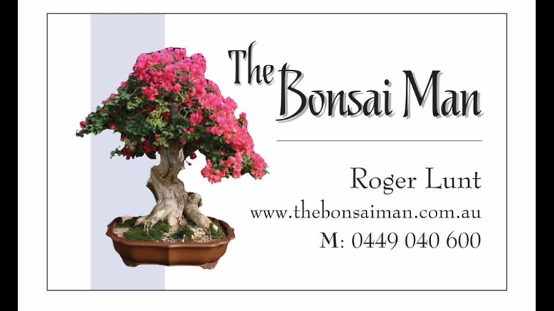 The Bonsai Man Business Card