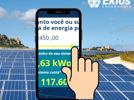 CALCULADORA SOLAR | Quanto custa para produzir energia solar?