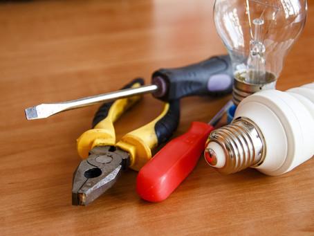 Manutenção elétrica em casas, condomínios e empresas
