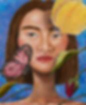 김예슬_환생 series1_acrylic on canvas_27.1x22