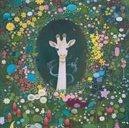 Seung-Yeon Moon_White giraffe, 90.9×65.1cm, Acrylic on Canvas, 2020.jpg