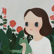 안내자 72X91cm  Acrylic on Canvas 2019