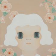 빛나는 소녀 45X53cm Acrylic on Canvas 2019