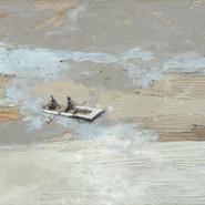 Leszek Skurski - Fishing - 60x80 cm - Mixed Media on Canvas - 2018