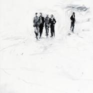 Leszek Skurski - Investigators - 120 x 80 cm - Oil on Canvas - 2017