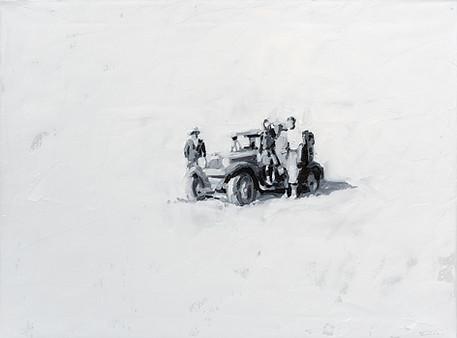 Leszek Skurski - Wheeled - 60x80 cm - Oi