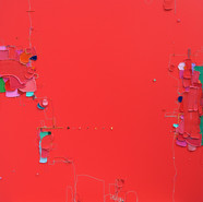 The Memory of the Unconscious 424, 130x130 cm, Mixed media on Canvas, 2020.jpg