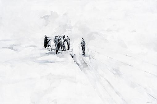 Leszek Skurski - Le Scaphandre - 100x150