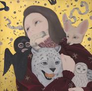 RUN 2020 Acrylic on canvas 72.7x60.6cm Acrylic On Canvas