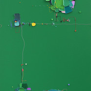 The Memory of the Unconscious 407, 91x73 cm, Mixed media on Canvas, 2020.jpg