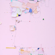 The Memory of the Unconscious 412, 91x91 cm, Mixed media on Canvas, 2020.jpg