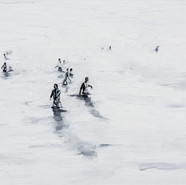 Leszek Skurski - 32 Grad - 100x160 cm - Oil on Canvas - 2017