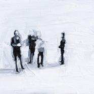 Leszek Skurski - Explanation - 18x24 cm - Oil on Canvas - 2018