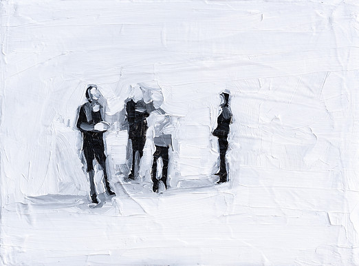 Leszek Skurski - Explanation - 18x24 cm