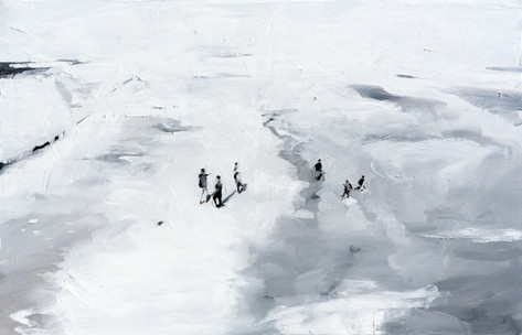 Leszek Skurski - Bucht - 80x120 cm - Oil