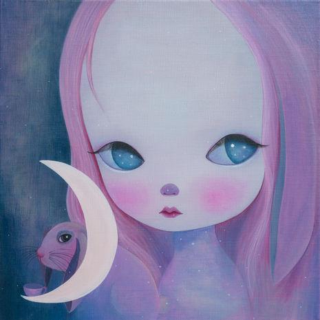 Invite of the moon rabbit