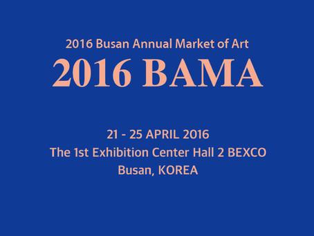 2016 BAMA (Busan Annual Market of Art)