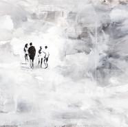 Leszek Skurski - Mysterious drop - 100 x 130 cm - Acryl on Canvas - 2017