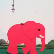 Go yard 45.5x53cm Acrylic on canvas 2019